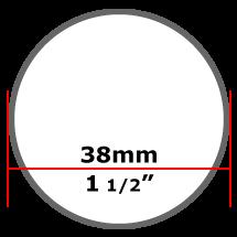 38mm Mild Steel