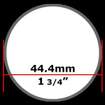 44.4mm Mild Steel