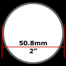 50.8mm Mild Steel