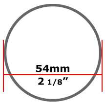 54mm Mild Steel