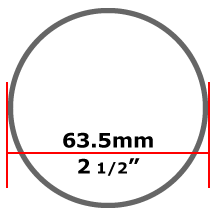 63.5mm Mild Steel