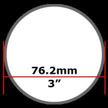 76.2mm Mild Steel