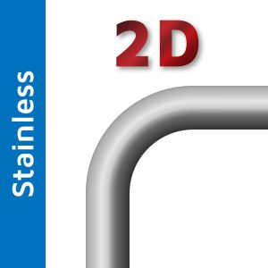 38mm 2D Stainless Steel Mandrel Bend