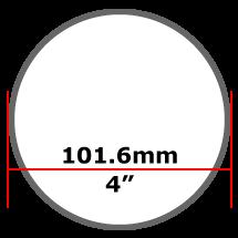 101.6mm Mild Steel