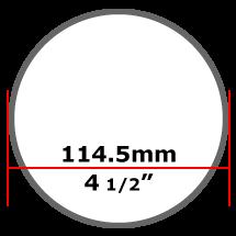 114mm Mild Steel