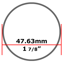 47.63mm Stainless Steel