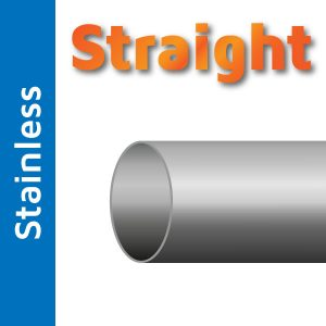 38mm Straight Stainless Steel Tube