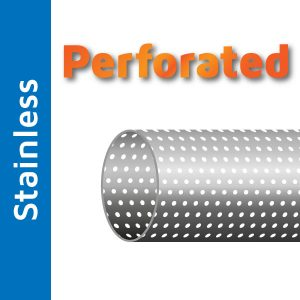 101.6mm Perforated Stainless Steel Tube